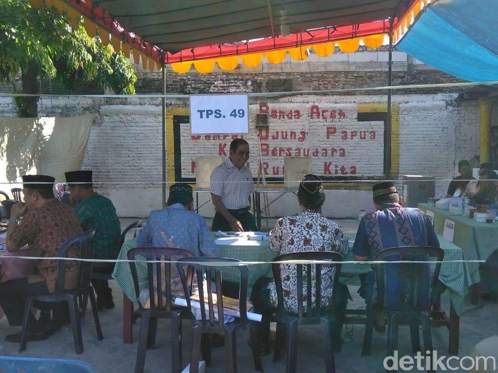 TPS 49 Manukan Dono Surabaya Gelar Pemungutan Suara Ulang