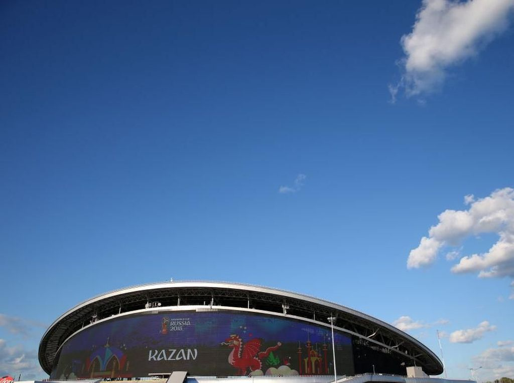 Kazan Arena Kuburan Jerman dan Argentina