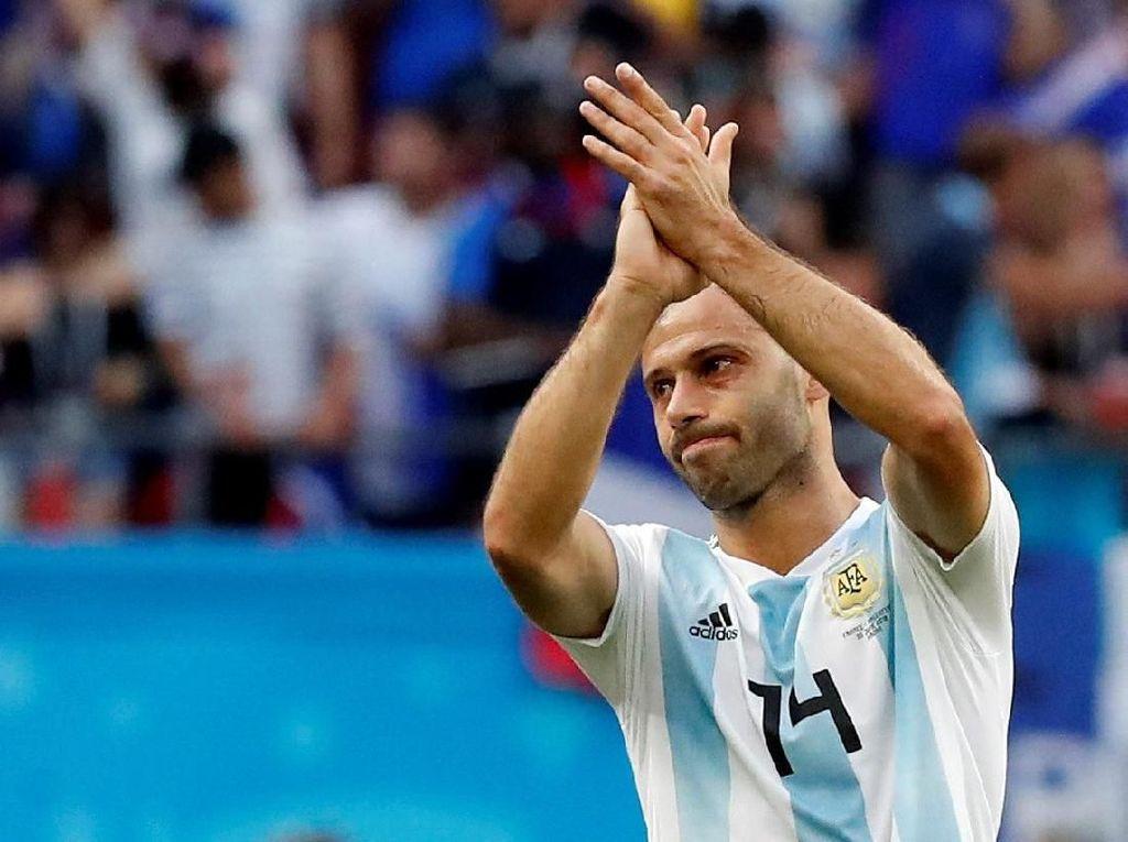 Akhir Karier Javier Mascherano di Timnas Argentina