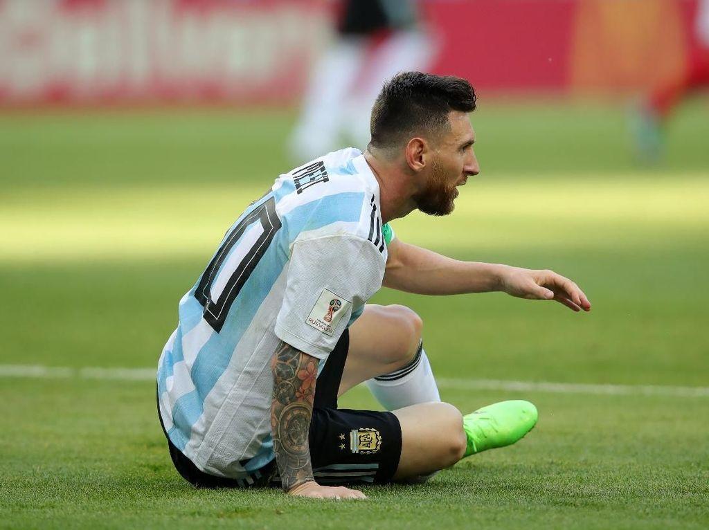 Lihat Messi Terus Menderita, Aguero Bertekad Juarai Copa America 2019