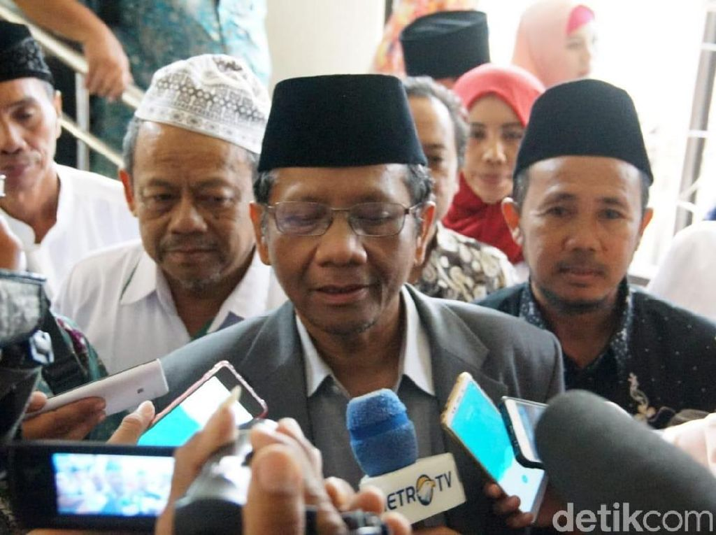 Mahfud Md Bertemu Jokowi: Saya Sampaikan Tak Kecewa
