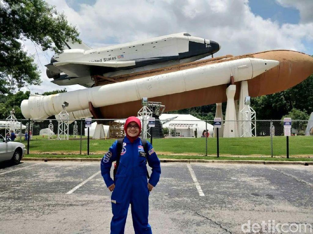Sosok Guru SD yang Ikut Pelatihan Astronaut di AS di Mata Kepsek