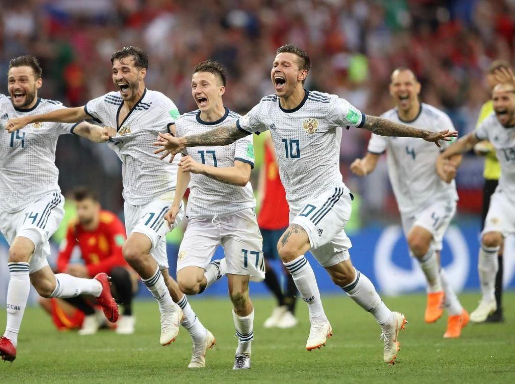 Rusia dan Prestasi Tuan Rumah di 10 Edisi Terakhir Piala Dunia