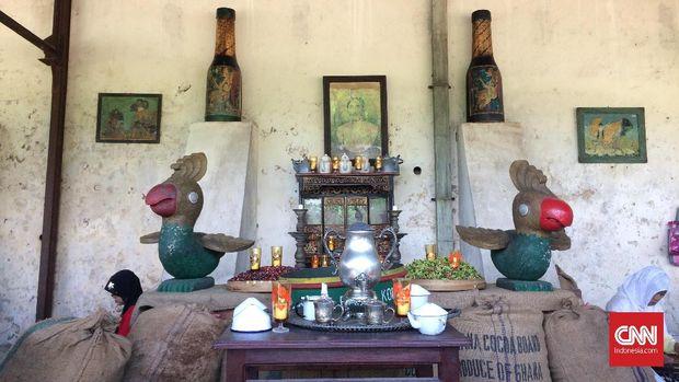 Upacara Panen Kopi Sengon, Simbol Kawin Sri dan Joko