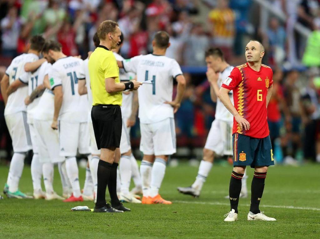 Gracias, Andres Iniesta!