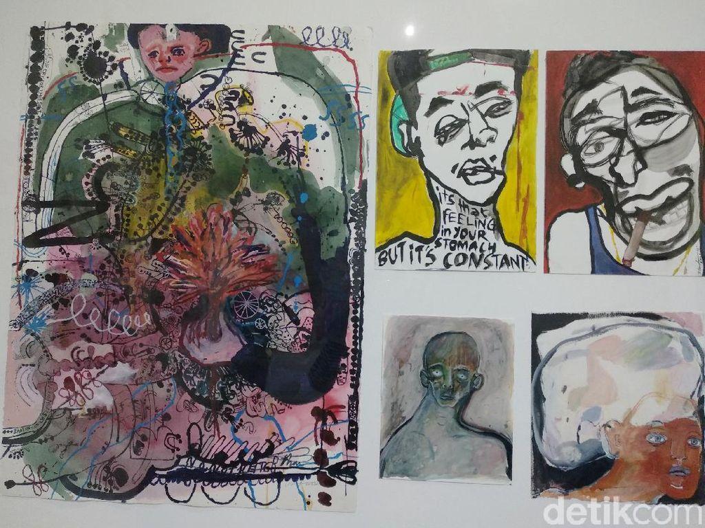 Karya-karya Natisa Jones Kerap Bicara soal Sosok Figuratif