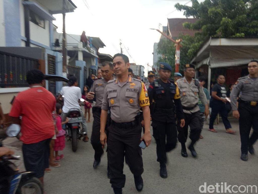 Pendukung Calon dan Massa Kotak Kosong Pilwalkot Makassar Ricuh