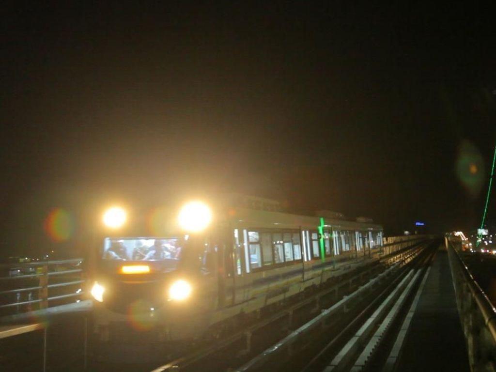 LRT Palembang Sudah Bisa Melaju Hingga 90 Km/Jam