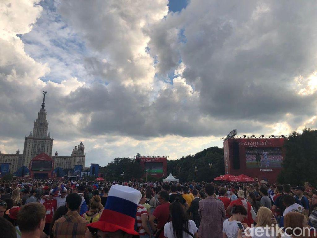 Fan Fest Sparrow Hills Dibuka Lagi, Jadi Kado Kemenangan Rusia