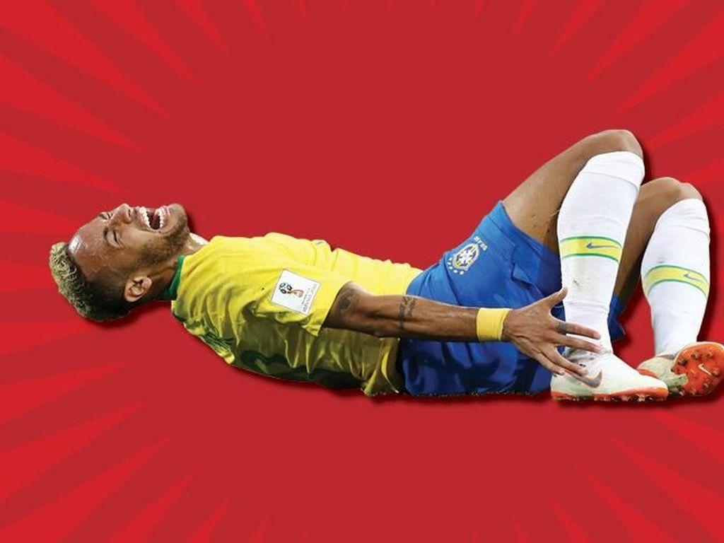 Brasil vs Meksiko: Waspadai Aksi Jatuh Neymar
