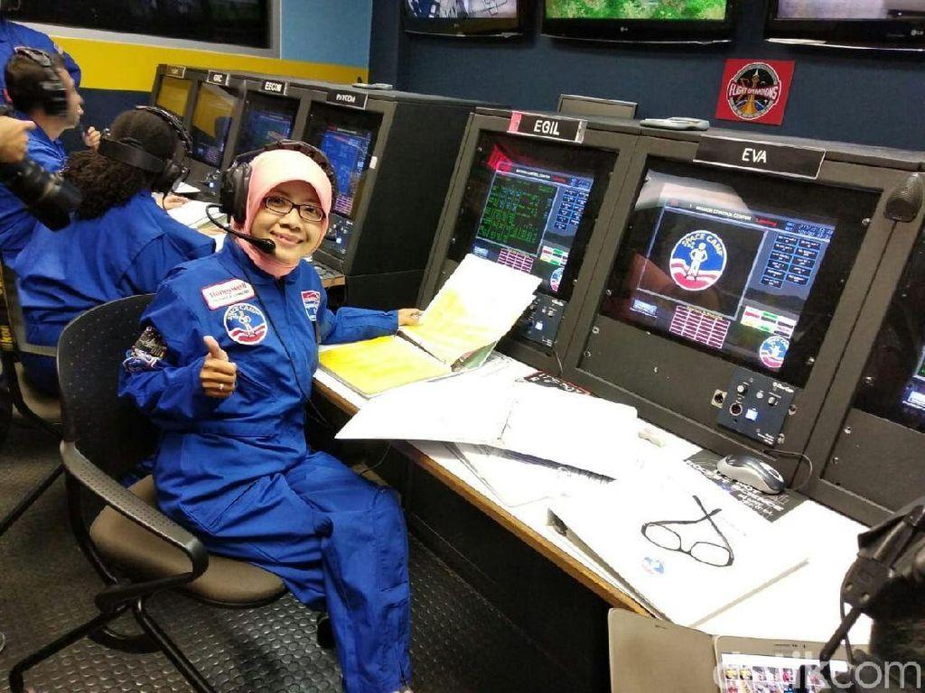 Ternyata Fitri yang Dilatih Astronaut di AS Pernah Ditolak Masuk SD
