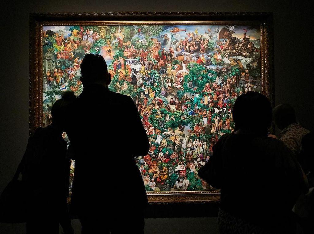 Lukisan Gede Mahendra Yasa Menangkan Signature Art Prize 2018