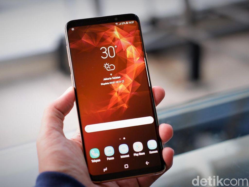 Lewat SoD, Layar Ponsel Samsung Bisa Kian Lega Tanpa Bezel
