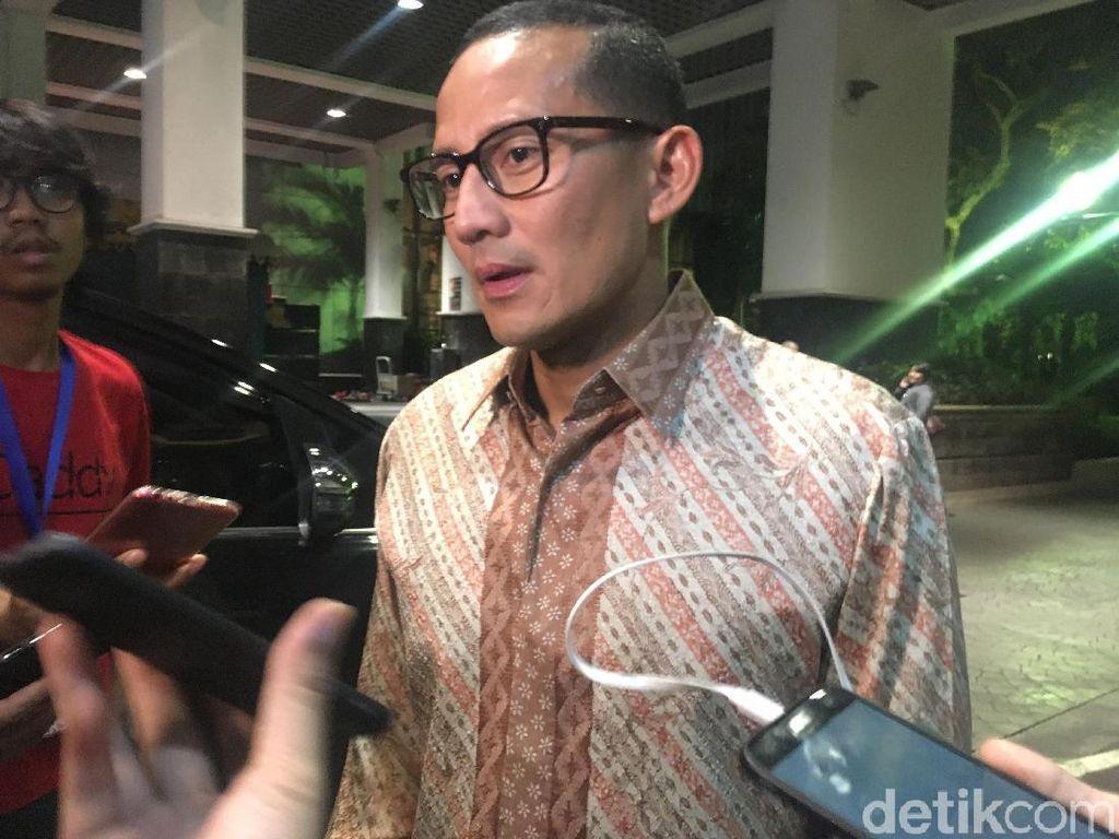 Sandi Sebut Ada Kesamaan Hasil Pilgub Jateng dan Pilkada DKI 2017