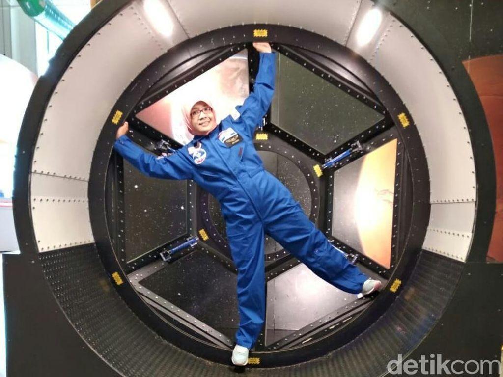 Mengenal Lebih Dekat Sosok Nur Fitriana Astronaut dari Sleman