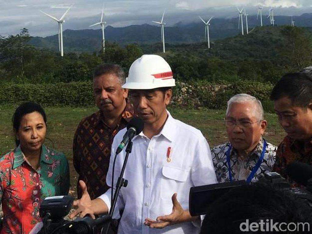 Bikin Kebun Angin, Jokowi: Mahal di Awal, Murah di Akhir