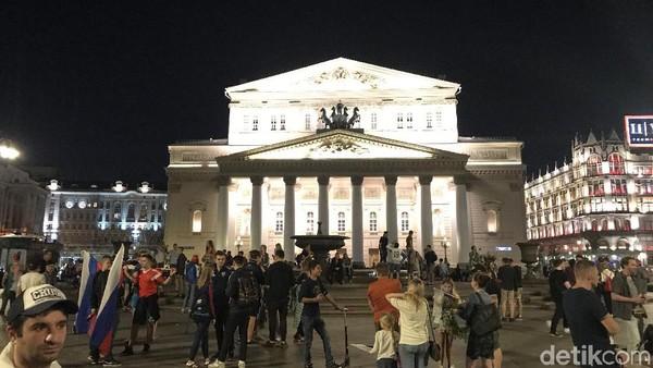 Pesta Semalam Suntuk di Moskow Sambut Kelolosan Rusia