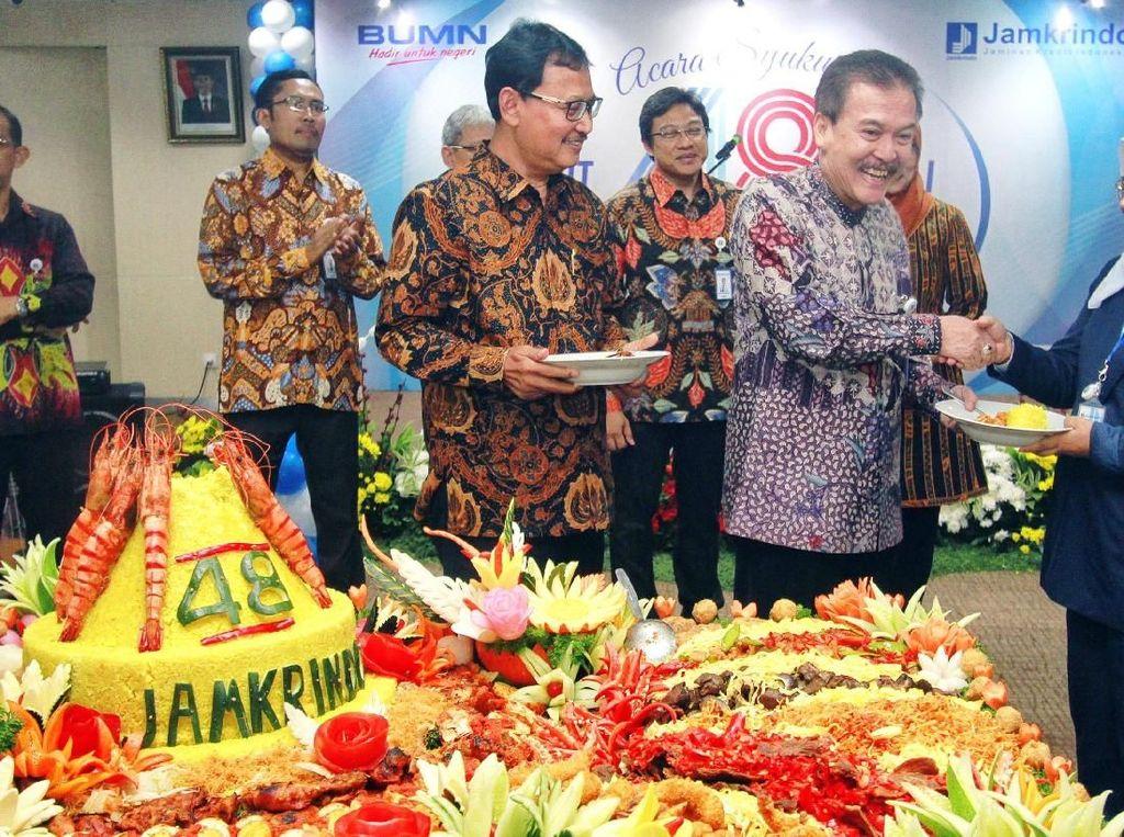 Perayaan HUT ke-48 Jamkrindo