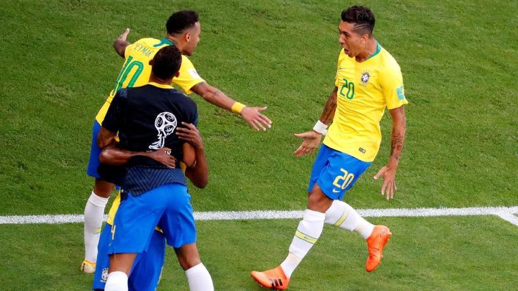Video: Sontekan Firmino Buat Brasil Atasi Meksiko 2-0