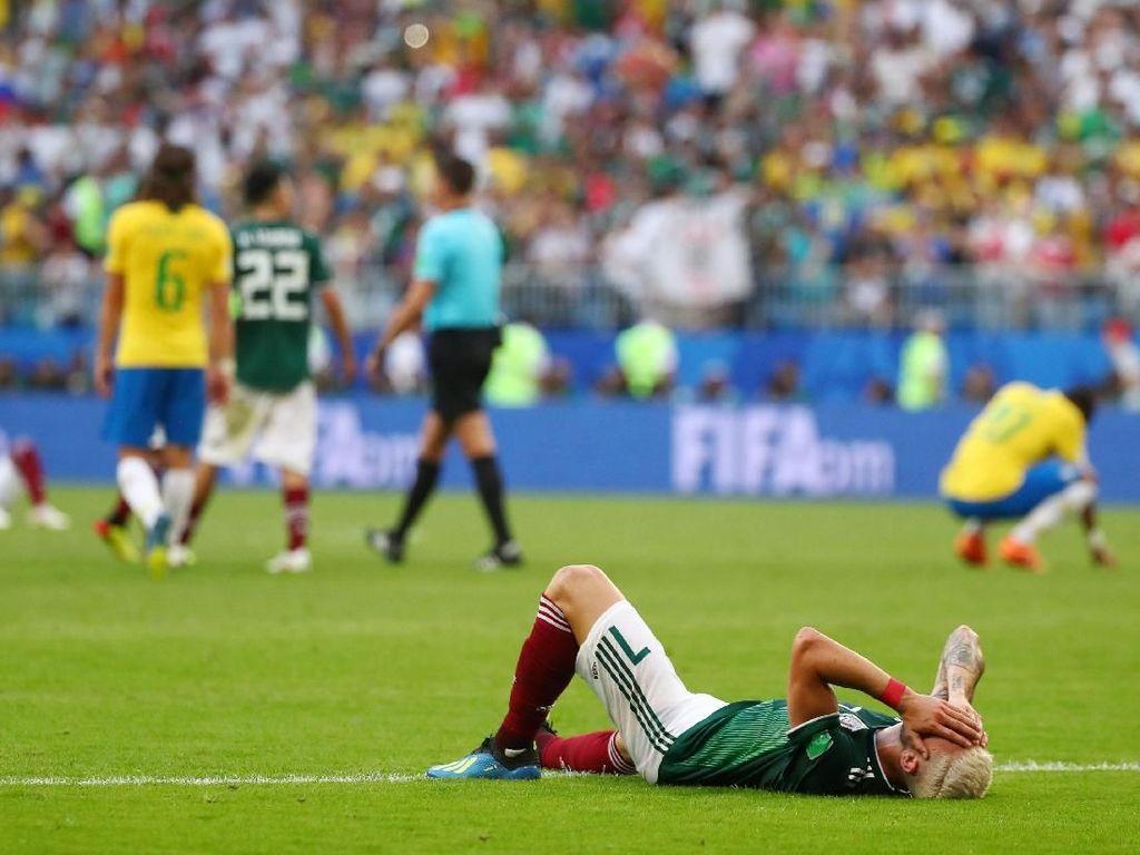 Meksiko Lagi-lagi Mentok di Babak 16 Besar Piala Dunia