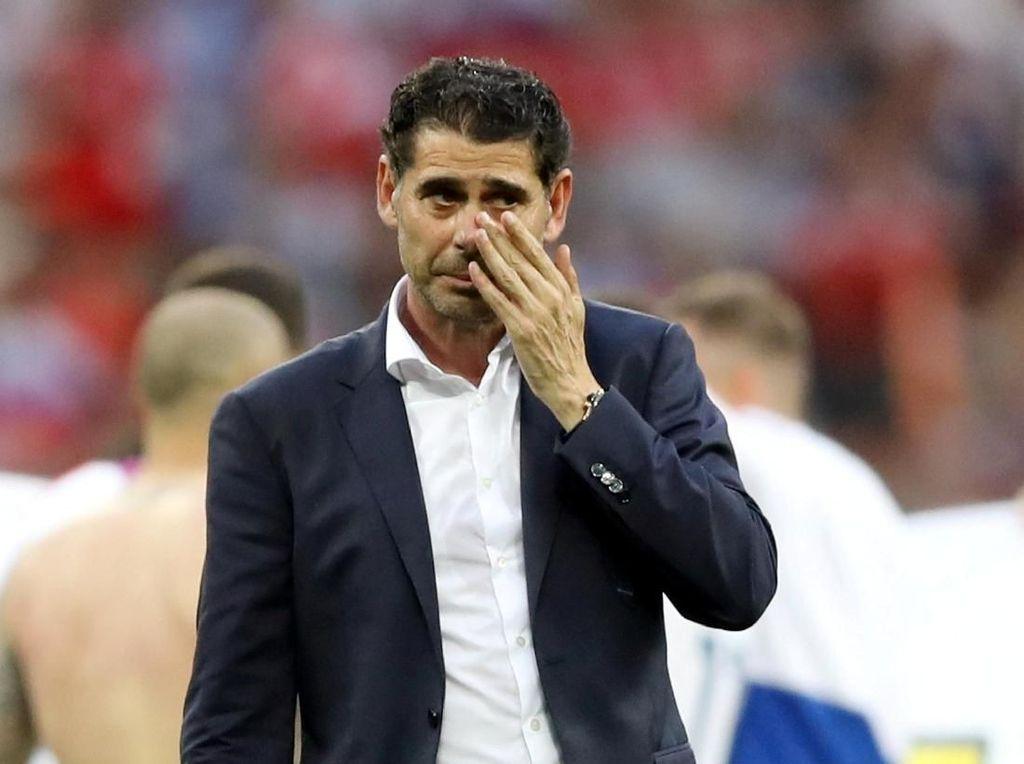 Hierro Lepas Jabatan Pelatih Timnas Spanyol