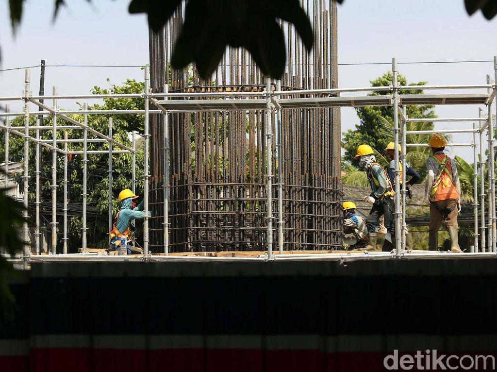 Pembangunan Tol Becakayu Seksi 1A Terus Dikebut