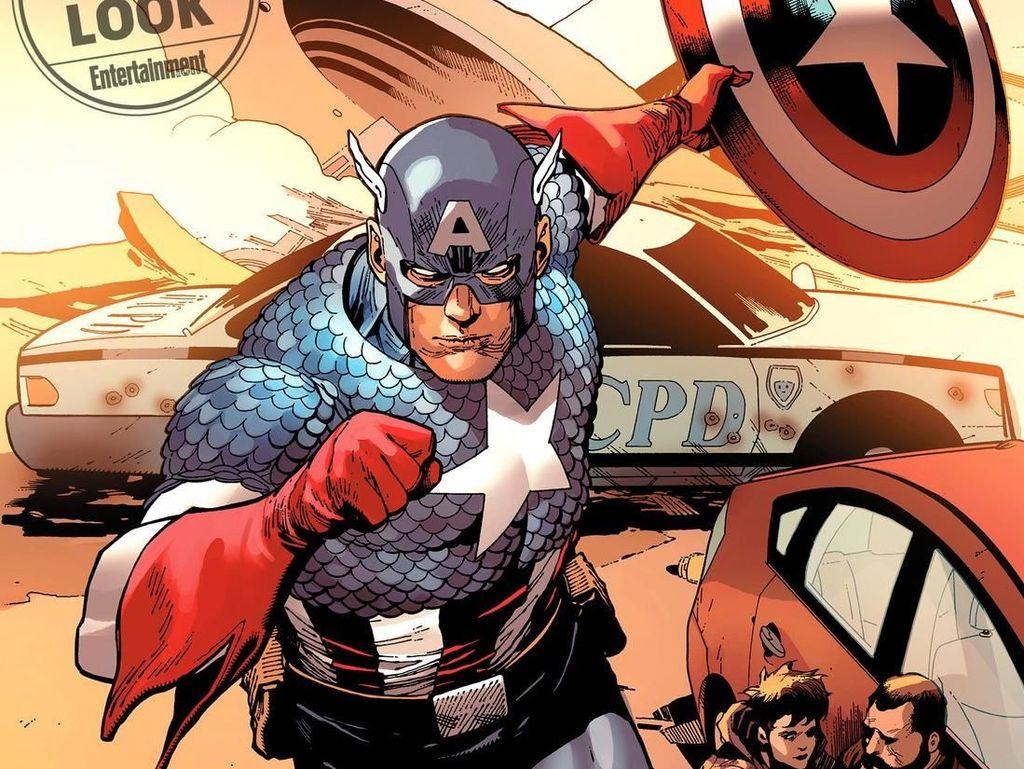 Ta-Nehisi Coates Bicara soal Naskah Komik Captain America