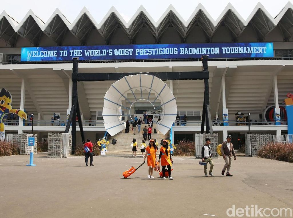Melihat Beragam Fasilitas untuk Pengunjung Indonesia Open
