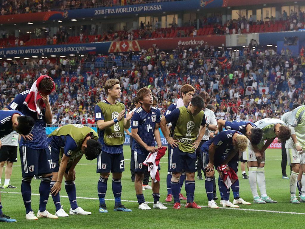 Video: Jepang Kandas, Tak Ada Lagi Wajah Asia di Piala Dunia