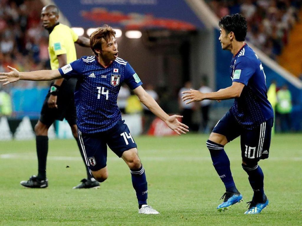 Video: Timnas Jepang Pulang Disambut Bak Pahlawan