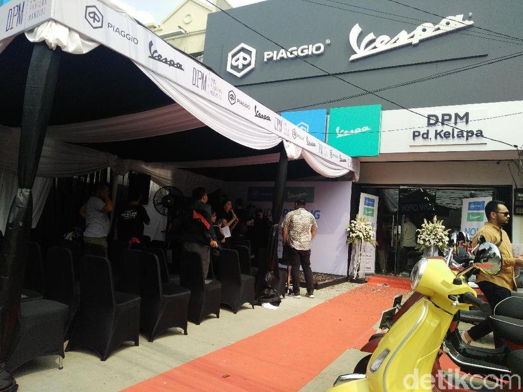 Piaggio Perluas Jaringan di Jakarta Timur
