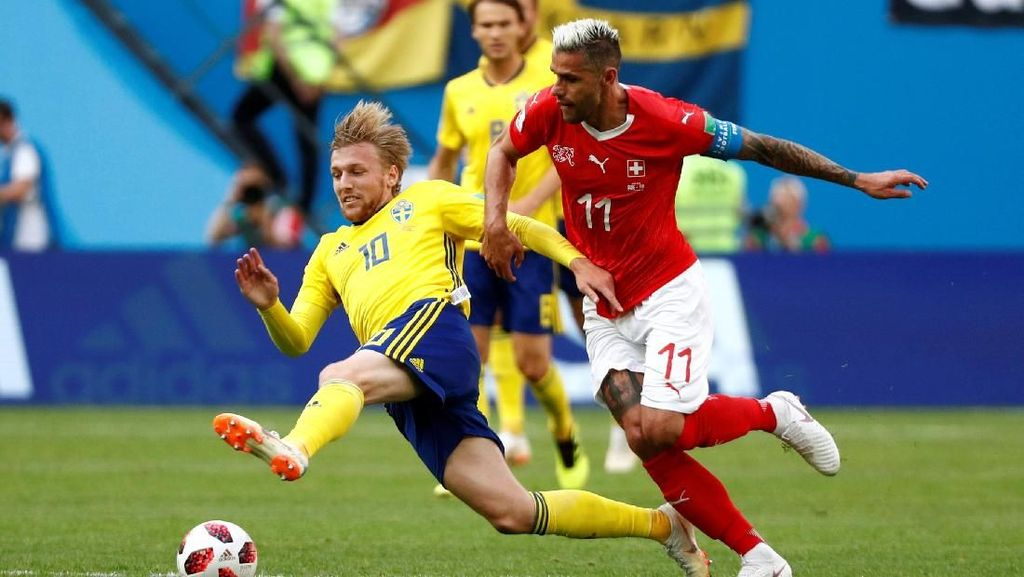 Video Highlights Babak I Swedia Vs Swiss