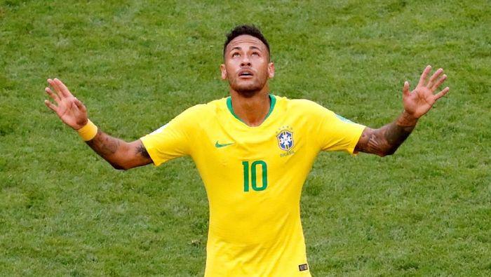 Pemain timnas Brasil, Neymar. (Foto: David Gray/Reuters)