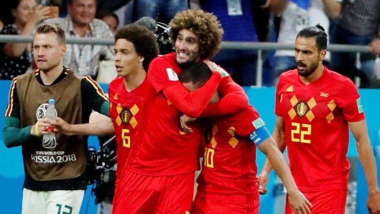 Saat Belgia di Ujung Tanduk, Fellaini dan Chadli Datang Menyelamatkan