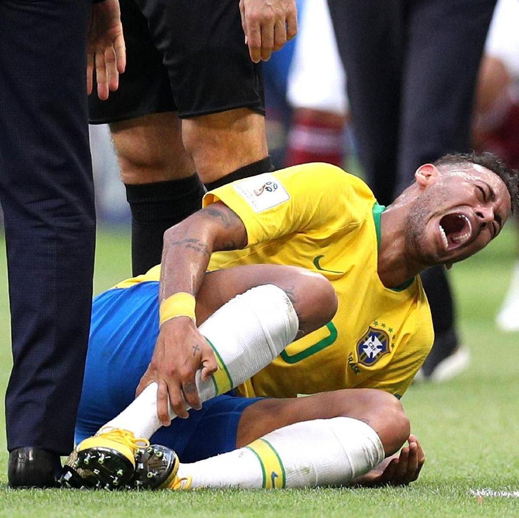 Neymar Anggap Kritik Tukang Akting sebagai Lelucon