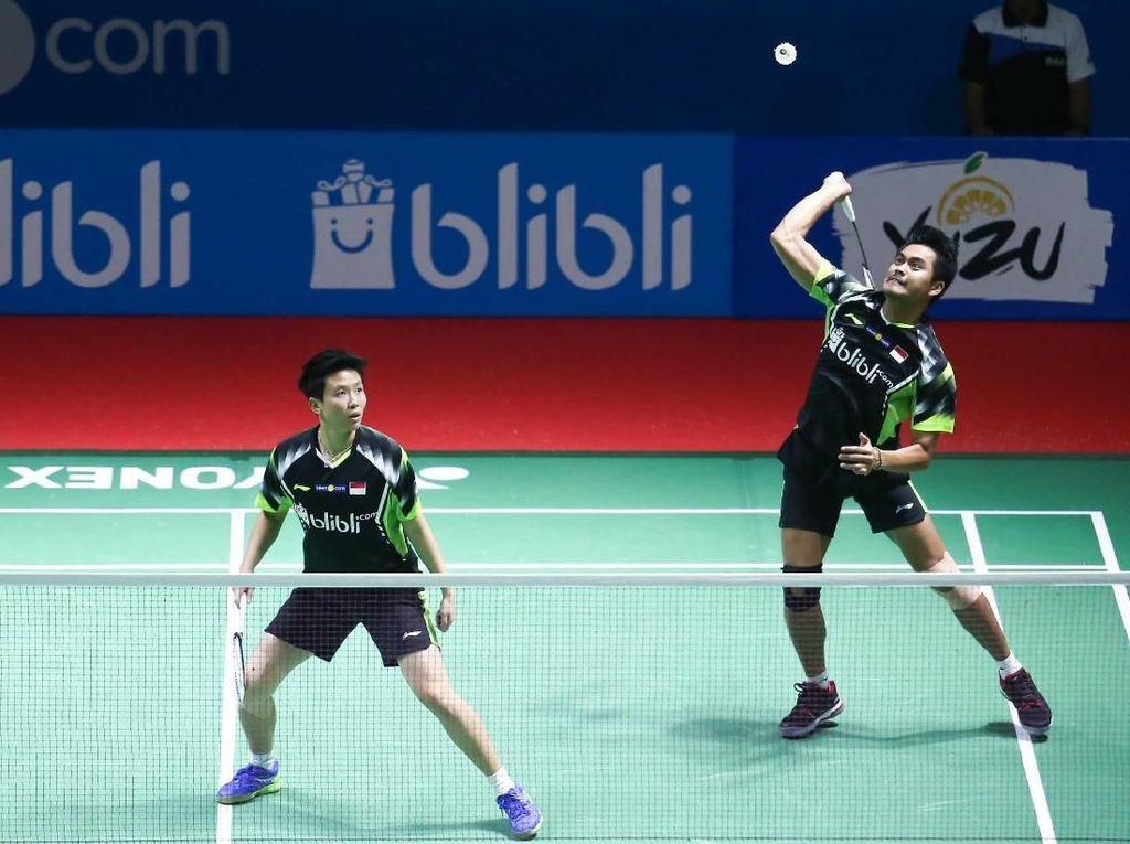 Tontowi/Liliyana Lewati Ujian Pertama Indonesia Open