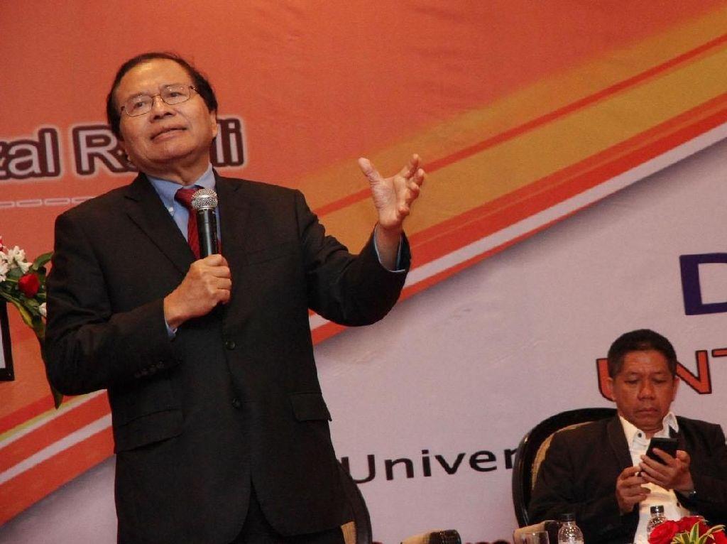 Dolar AS Mengamuk, Rizal Ramli: Menkeu Jangan Telmi!