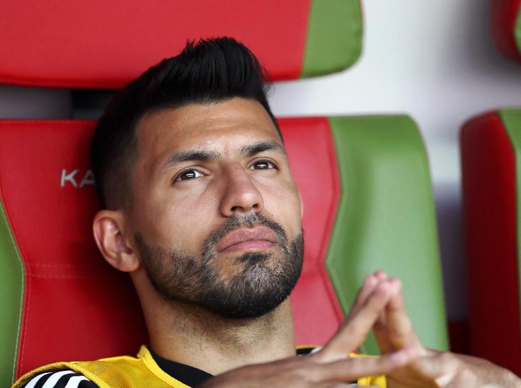 Sergio Aguero Tak Ucapkan Terima Kasih pada Sampaoli