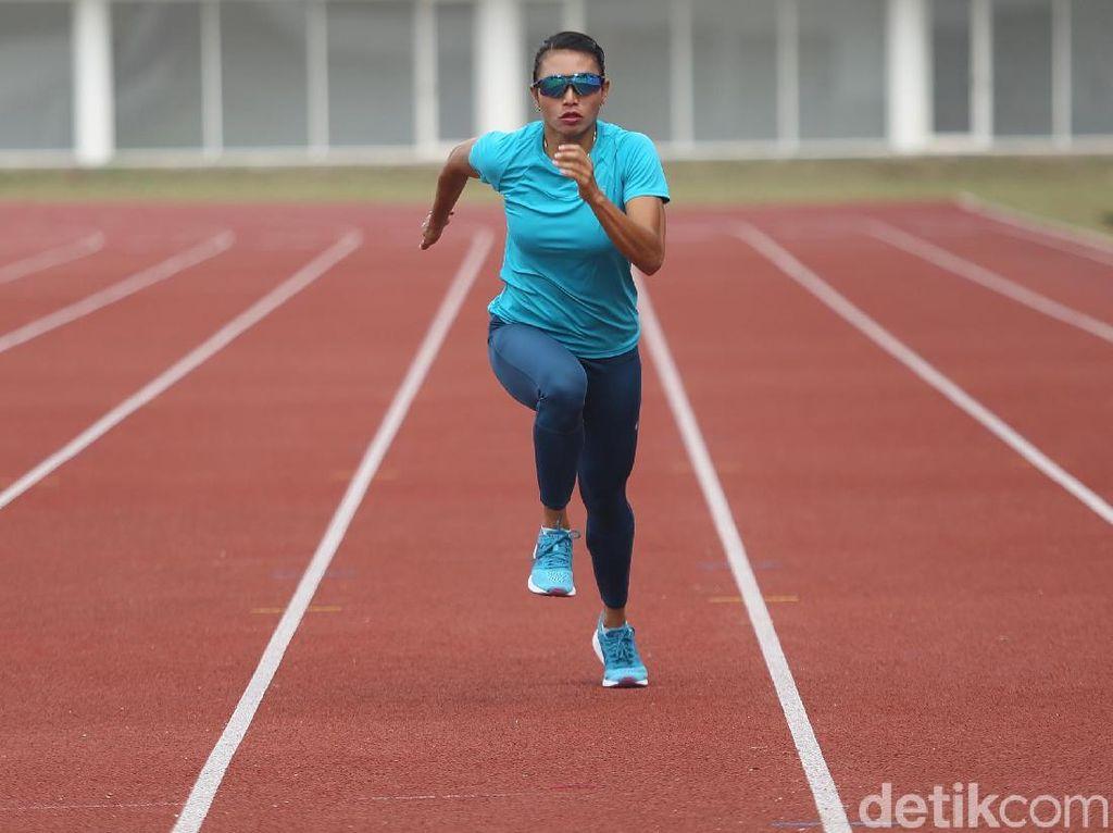 Maria Londa Si Jagoan Lompat Jauh Indonesia di Asian Games 2018