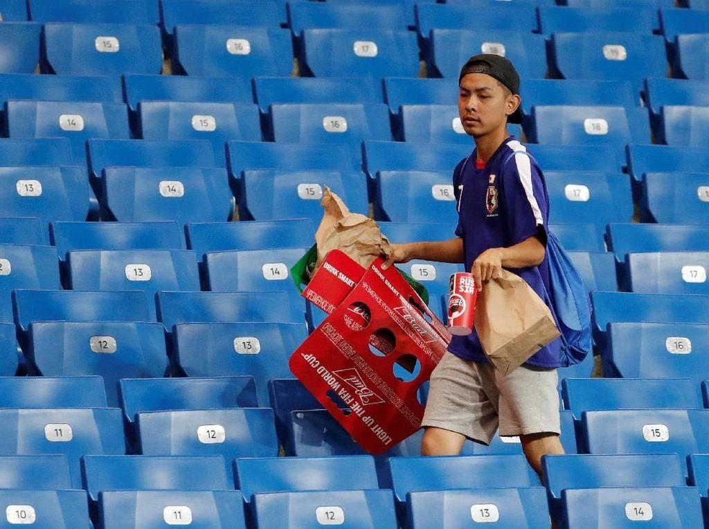 Kebersihan Jepang (Lebih) Mendunia Lewat Piala Dunia 2018