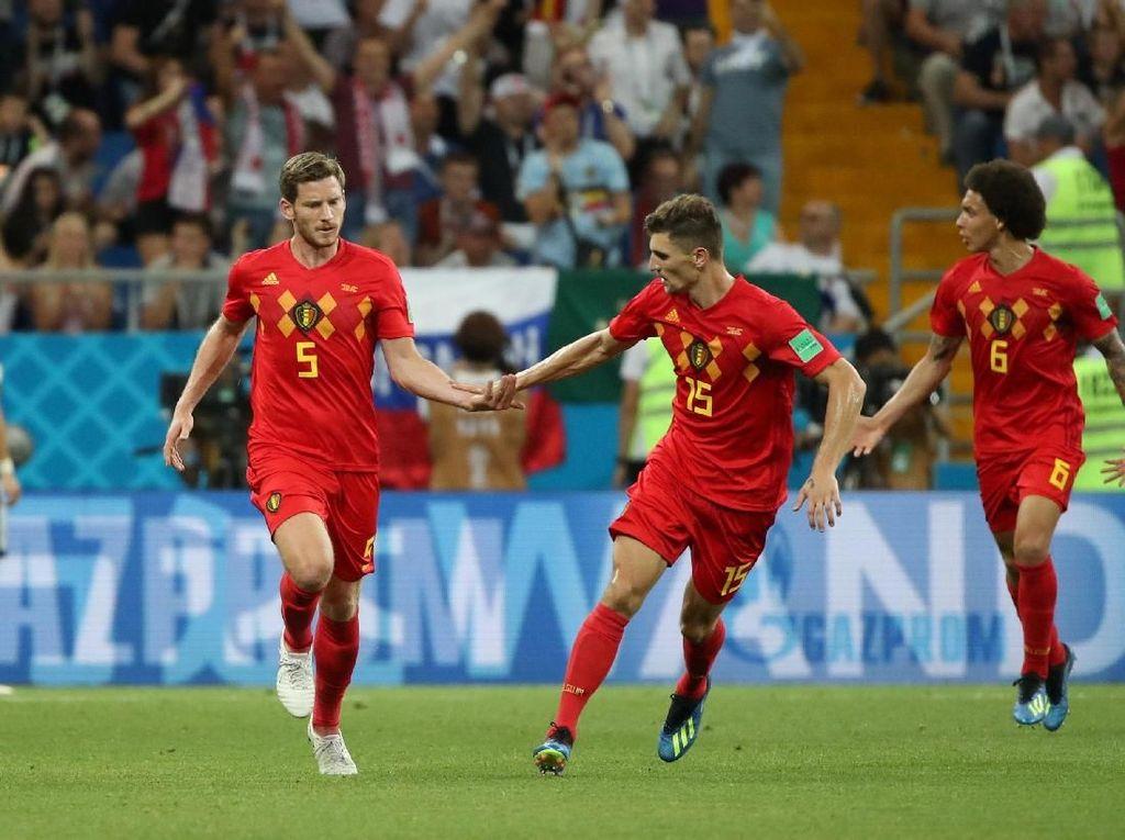 Video: Gol Sundulan Vertonghen, Belgia 2-1 Jepang