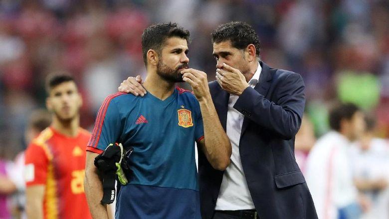 Cerita Debat Diego Costa-Hierro soal Eksekutor Penalti Spanyol