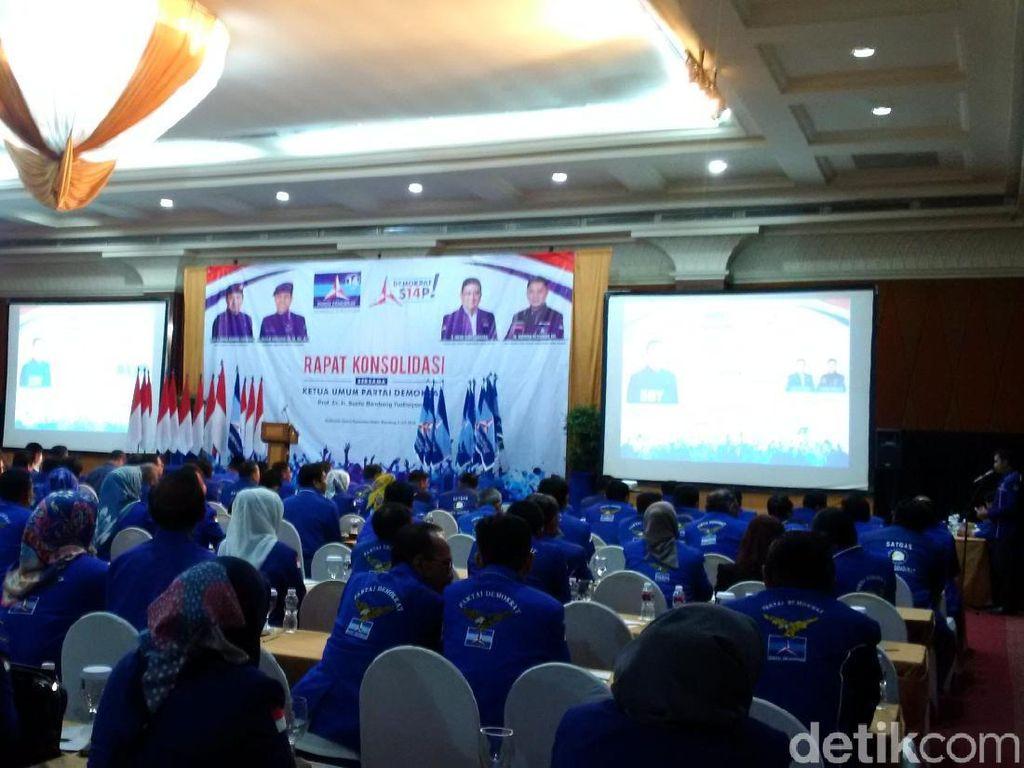 Rapat Konsolidasi di Jabar, PD Serius Godok Poros Ketiga Pilpres
