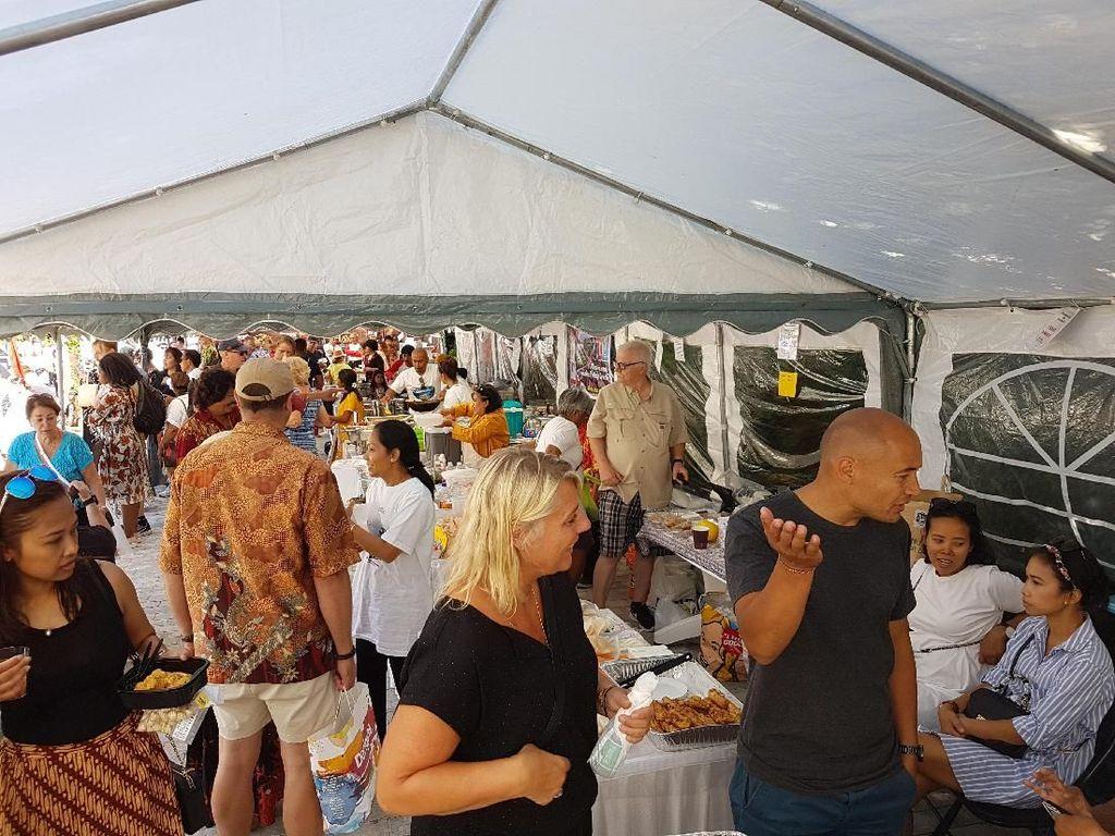 Masyarakat Denmark Antusias Kunjungi Bazaar Indonesia 2018