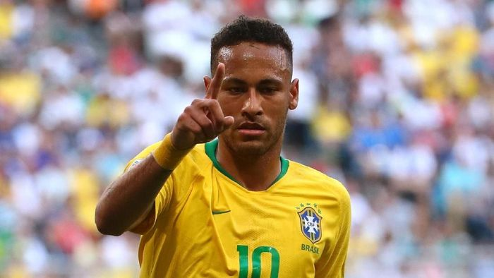 Neymar masuk timnas Brasil lagi (Michael Dalder/REUTERS)