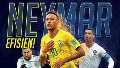 Neymar Efisien!