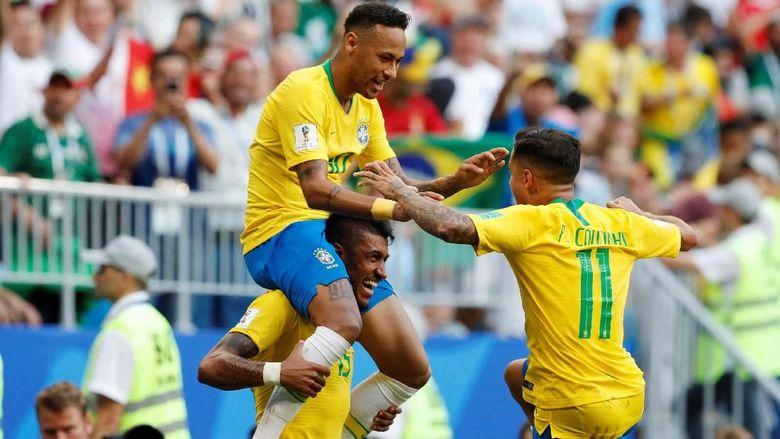 Lampaui Jerman, Brasil Kini Top Skorer Piala Dunia