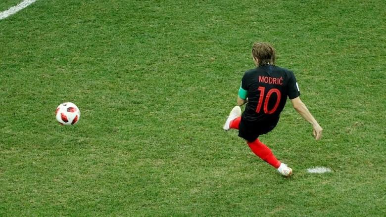 Hasil gambar untuk Luka Modric kroasia penalti
