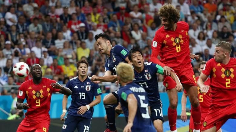 Hasil Pertandingan Piala Dunia 2018: Belgia vs Jepang Skor 3-2