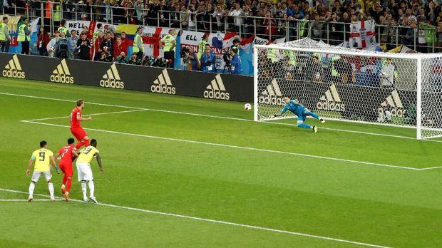 Harry Kane jadi eksekutor penalti yang hebat untuk Inggris